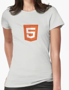 HTML 5 - Silicon Valley Womens Fitted T-Shirt