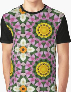 Flower Mandala, Blossoms  Graphic T-Shirt