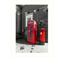 Big Red Little Red Art Print