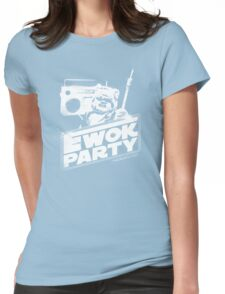 Ewok Party Womens Fitted T-Shirt
