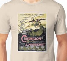 French Vintage Poster 1899 Restored Unisex T-Shirt