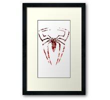 Spiderman Logo Framed Print