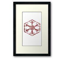 Sith Code Emblem Framed Print