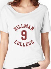 Kadeem Hardison Dwayne Wayne 9 Hillman College A Different World Women's Relaxed Fit T-Shirt