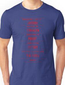 Sith Code Unisex T-Shirt