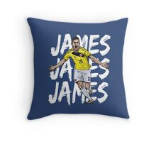 James 2 Throw Pillow