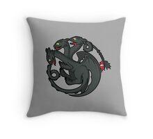 Toothless Targaryen Throw Pillow