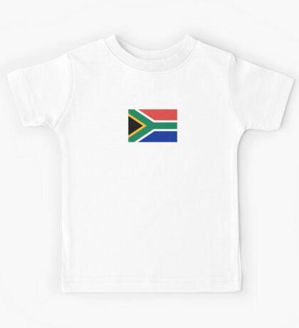 South African Springboks Flag Kids Tee