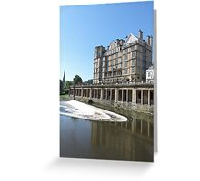 Empire Hotel Bath Greeting Card