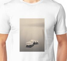 Two Boats and Fog Toned Unisex T-Shirt