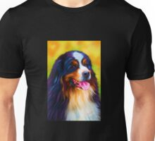 Heidi - Bernese Mountain Dog Painting by Michelle Wrighton Unisex T-Shirt