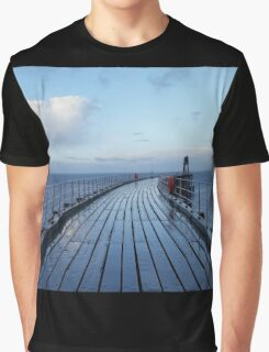 Whitby Pier Graphic T-Shirt
