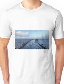 Whitby Pier Unisex T-Shirt