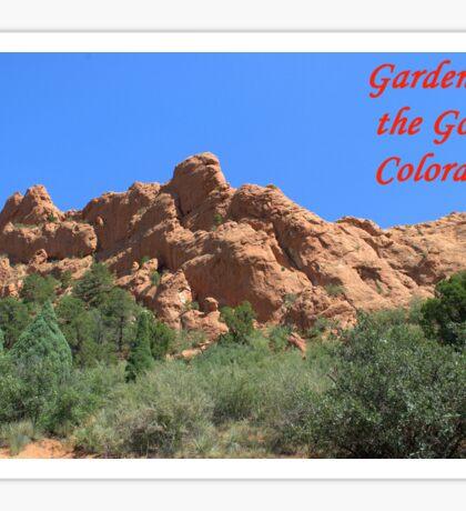 Garden of the Gods #2 Sticker