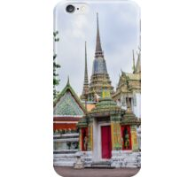 Wat Pho or the Temple of Reclining Buddha in Bangkok, Thailand iPhone Case/Skin