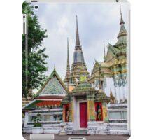Wat Pho or the Temple of Reclining Buddha in Bangkok, Thailand iPad Case/Skin