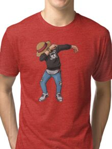 -DAB- Luffy  Tri-blend T-Shirt
