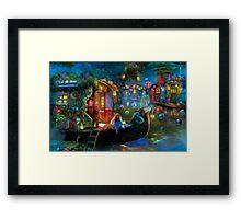 Wanderer's Cove Framed Print
