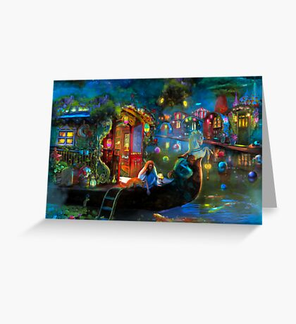 Wanderer's Cove Greeting Card
