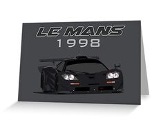 Le Mans Legend #41 - McLaren F1 GTR Greeting Card