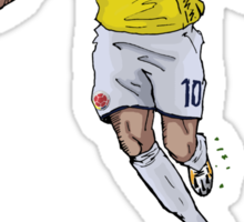 James Colombia Sticker