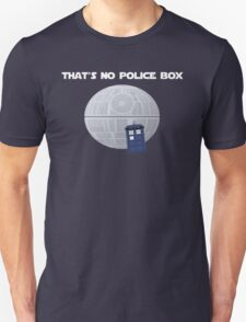 Star Wars/Doctor Who. That's no police box T-Shirt