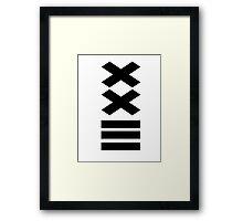 my favorite number Framed Print