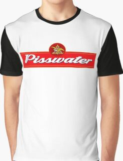 Pisswater: Please Drink Responsibly Graphic T-Shirt