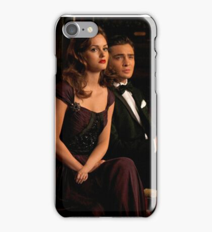 Chuck and Blair.  iPhone Case/Skin