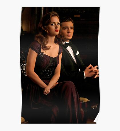 Chuck and Blair.  Poster
