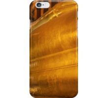 Reclining Buddha gold statue in Wat Pho buddhist temple, Bangkok, Thailand iPhone Case/Skin