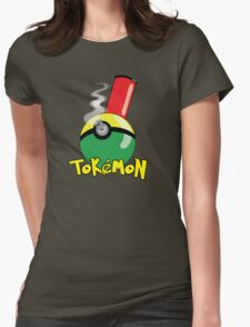 Tokemon 2 Womens Fitted T-Shirt