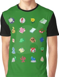 Animal Crossing: Your Pockets Are Full Graphic T-Shirt