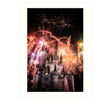 Magical Kingdom Explodes  Art Print
