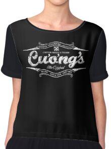 Cuong's Custom Bikes & Tours Chiffon Top