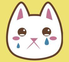 Super cute Chibi Kawaii kitten SAD :( One Piece - Short Sleeve