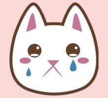 Super cute Chibi Kawaii kitten SAD :( Baby Tee