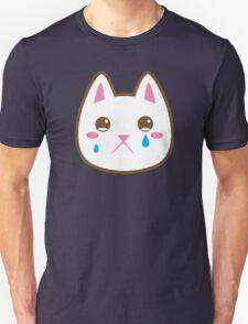 Super cute Chibi Kawaii kitten SAD :( Unisex T-Shirt