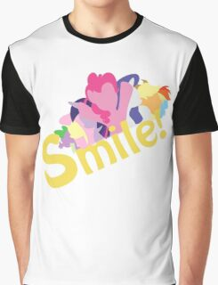 Smile! with Pinkie Pie Graphic T-Shirt