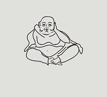 Buddha black Unisex T-Shirt