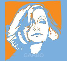 SWEDISH POP  portrait of Greta GARBO  by CecelyBloom