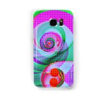 Colourful Swirls and Dots Samsung Galaxy Case/Skin