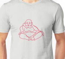 Buddha red Unisex T-Shirt