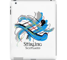 Stirling, Scotland - Prefer your gift on Black/White tell us at info@tangledtartan.com  iPad Case/Skin