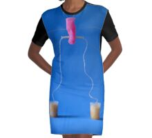 Absolutely fabulous Graphic T-Shirt Dress