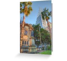 Old & New in Uptown Sydney Greeting Card
