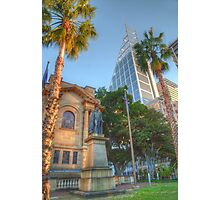 Old & New in Uptown Sydney Photographic Print