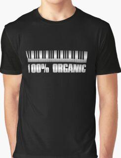 100 Organic Silver Graphic T-Shirt