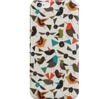 just birds china white iPhone Case/Skin
