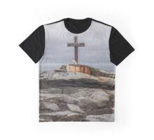 Cross at Malin Head Graphic T-Shirt